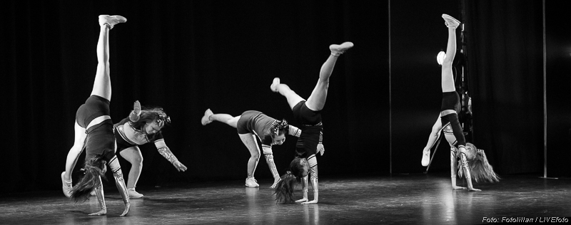 CheerBears uppvisning på Dansens dag 2016